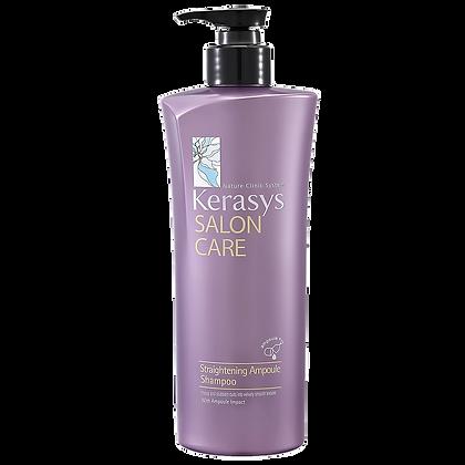 Шампунь гладкость и блеск- KERASYSSalon Care Straightening Shampoo