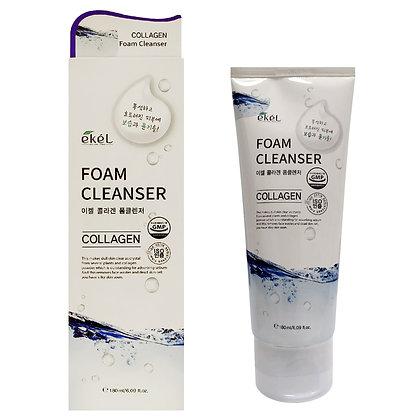 Пенка для умывания с коллагеном EKEL Collagen Foam Cleanser