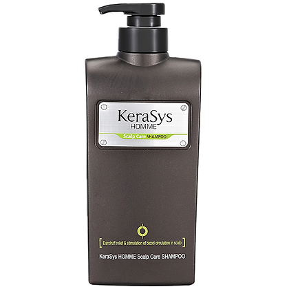 Шампунь мужской лечение кожи головы- KERASYS HommeScalp CareShampoo
