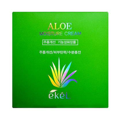 Крем увлажняющий с экстрактом алое EKEL Aloe Moisture Cream