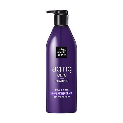 Шампунь антивозрастной MISE IN SCENE Aging Care Shampoo, 680 мл