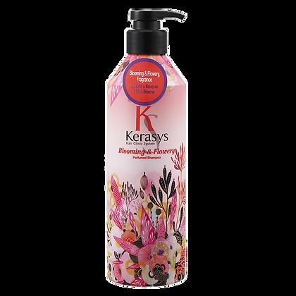 Шампунь для блеска и мягкости волос - Kerasys Blooming & Flowery Shampoo