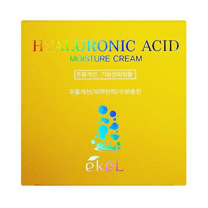 Крем увлажняющий с гиалуроновой кислотой EKEL Hyaluronic Acid Moisture Cream