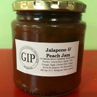 Jalapeno & Peach Jam 291ml