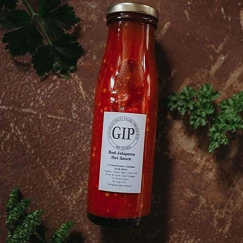 GIP Red Jalapeño Hot sauce