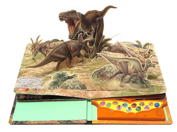 『恐竜ポップアップサウンドBOOK』永岡書店
