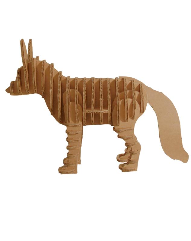 Cardboard Fox 4