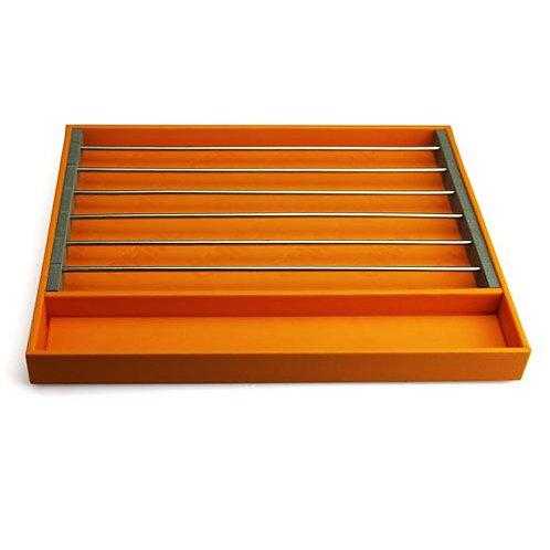 Трей для бусин, оранжевый