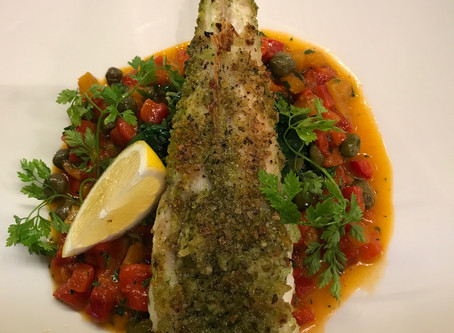 It's Monkfish special this week!