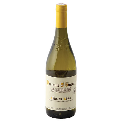 Domaine St. Vincent Cotes du Rhone Village White 2018