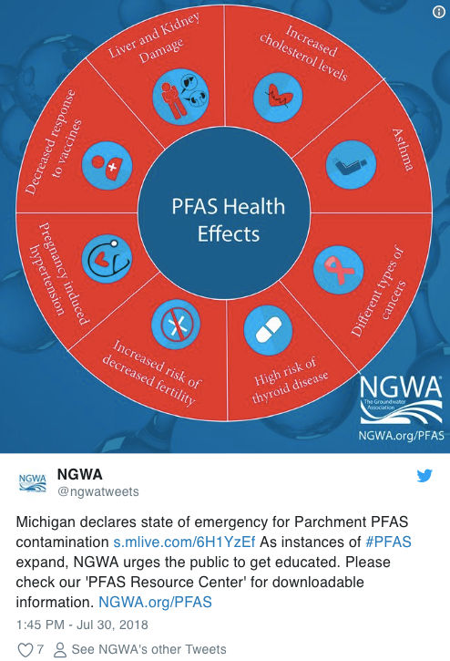 News: Another Michigan Water Crisis: PFAS