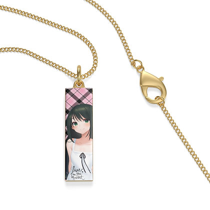"""""""Live in the Moment"""" Pendant & Chain"""