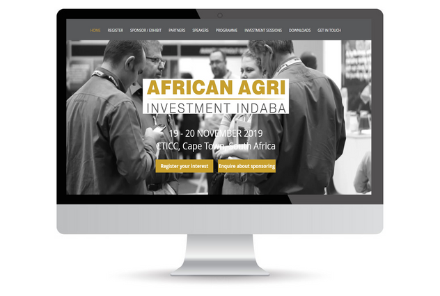 wix website design example for a summit.
