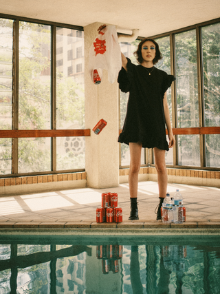 Photographer: Saen Sunderland Model: Annie  Magazine: Frocketzine