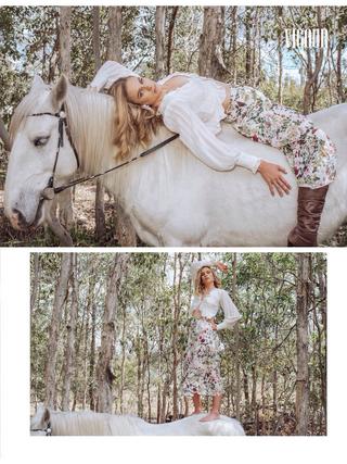 Photographer: Jasmin May Photography Model: Tayla Lumley Horse: Silver Ridge Horse Hire Magazine: Vigour Magazine