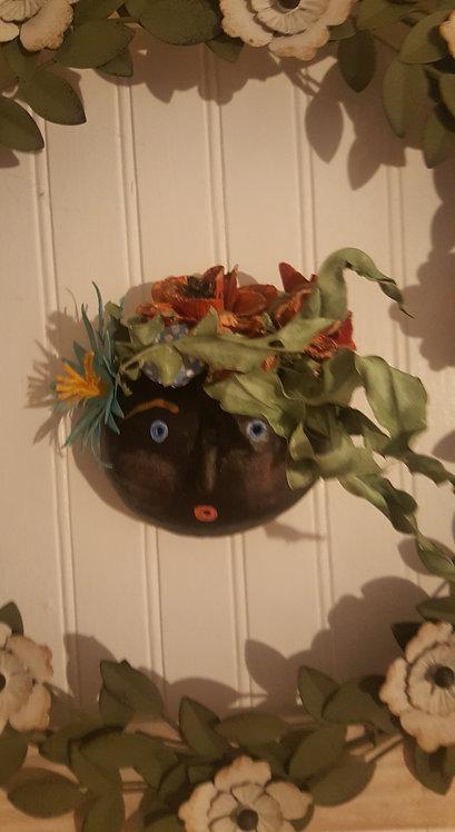 """OOAK COCO Mask """" MARIA FLORA"""" Artist Katie Gardenia"""