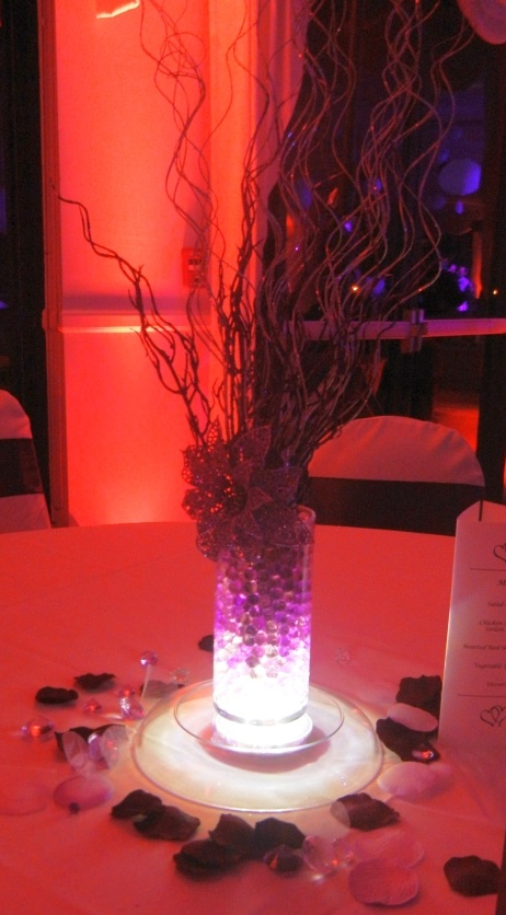Lighted Centerpiece Bases
