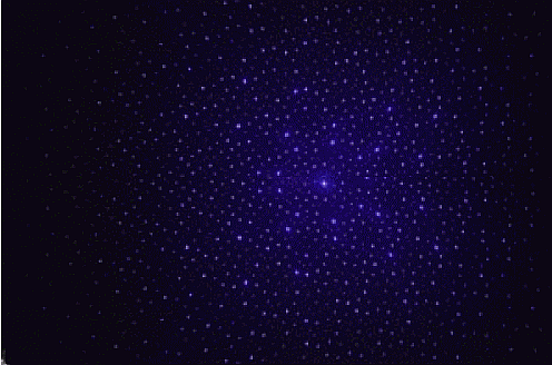 Laser Star Ceiling