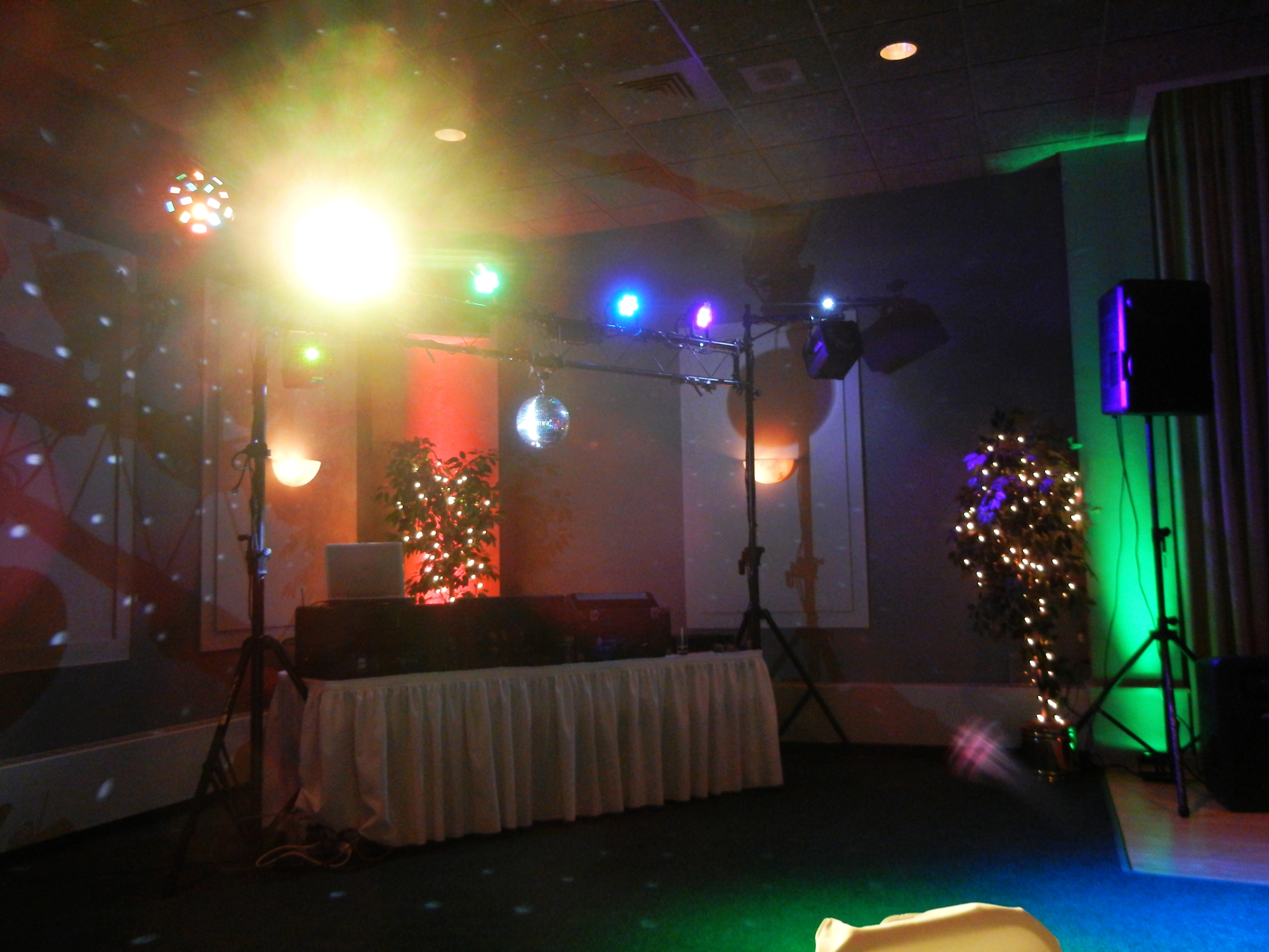 Dance Floor Lighting Service (D)