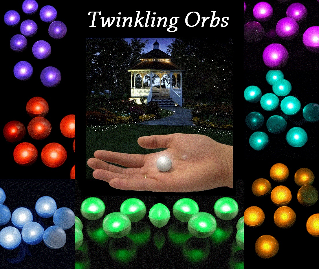 Twinkling Floating Orbs