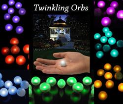 Twinkling Floating Orbs
