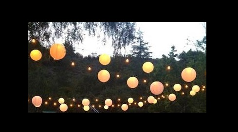 Paper Lanterns & Light Strings