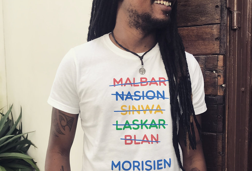 Tshirt Morisien - White