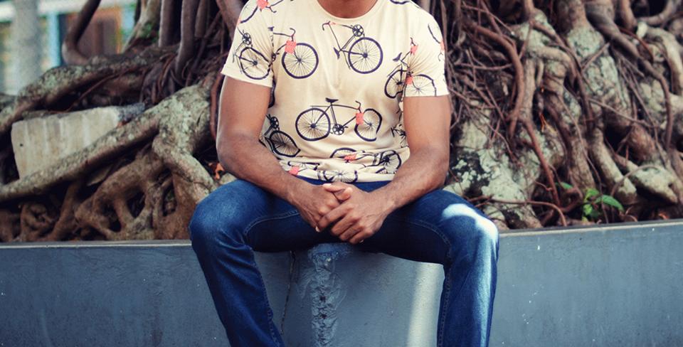 Tshirt BISIKLET NWAR Homme