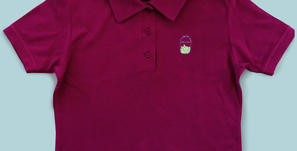 Ladies Crop Polo Shirt