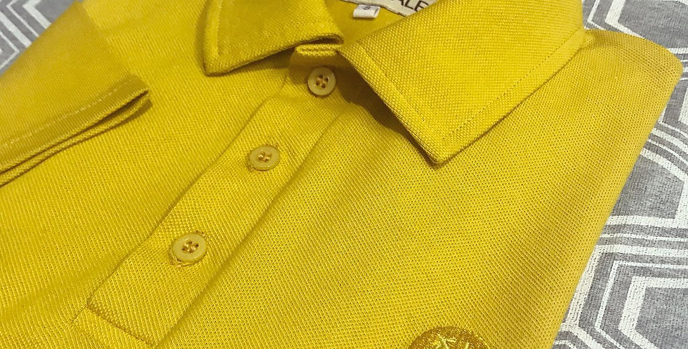 POLO SHIRT JAUNE