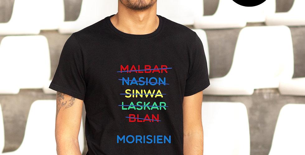 Tshirt Morisien - Black