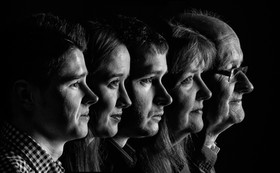 MONO: 'Family Portrait' by Keith Wilson - Ballynahinch Camera Club