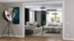 Modern Glass Interior Doors