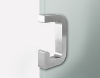 Modern Sliding Glass Pull