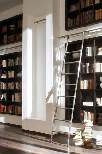 Interior Library Ladder