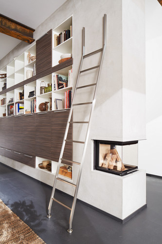 Modern Library Ladder
