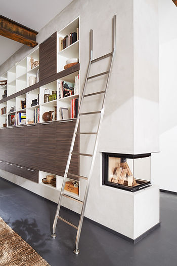Modern Interior Stationary Ladder