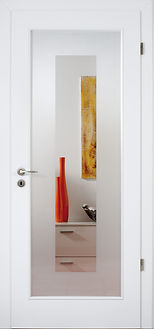 Modern Interior Door With Glass