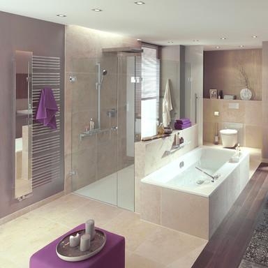 MWE Agitus M Shower Hinge