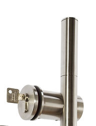 MWE Stilett Lockable Sliding Door Handle