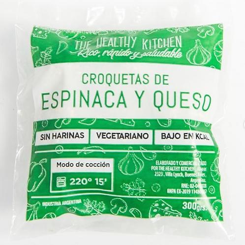 Croquetas de Espinaca y Queso - The Healthy Kitchen 300 grs