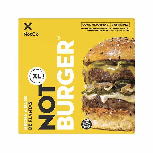 Not Burger XL 2 unidades