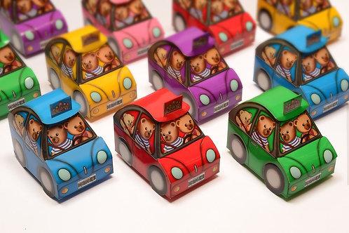 Figuras Caja Autito 4 unidades Mamuschka