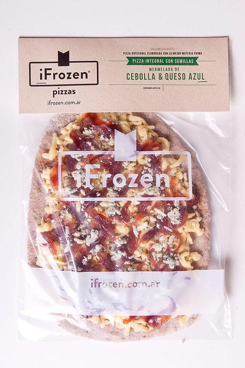 Pizza Integral Mermelada de Cebolla y Queso Azul iFrozen
