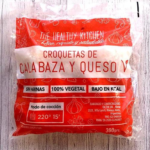Croquetas de Calabaza y Queso Vegana- The Healthy Kitchen 300 grs