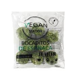Bocaditos de Espinacas Vegan Station 280 gr.
