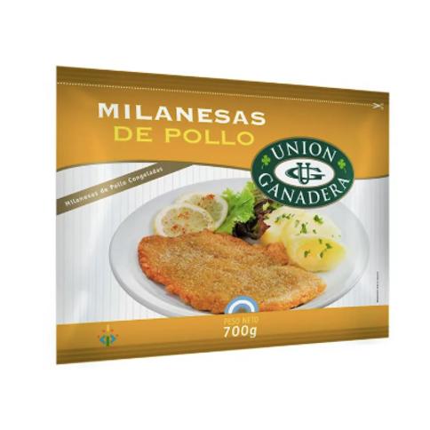 Milanesas de Pollo - Unión Ganadera 700gr