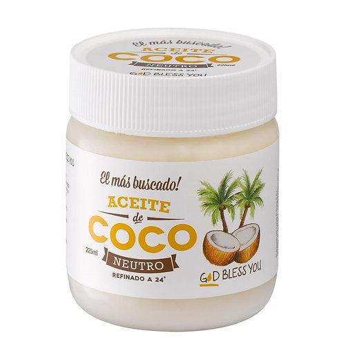 Aceite de Coco Neutro - God Bless You 500 ml.