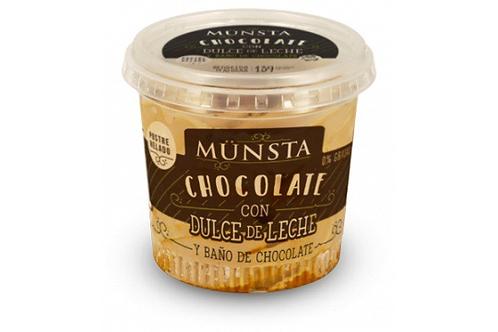 Münsta Chocolate con Salsa de Dulce de Leche 240 cc