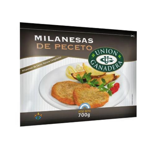 Milanesas de Peceto - Unión Ganadera 700gr